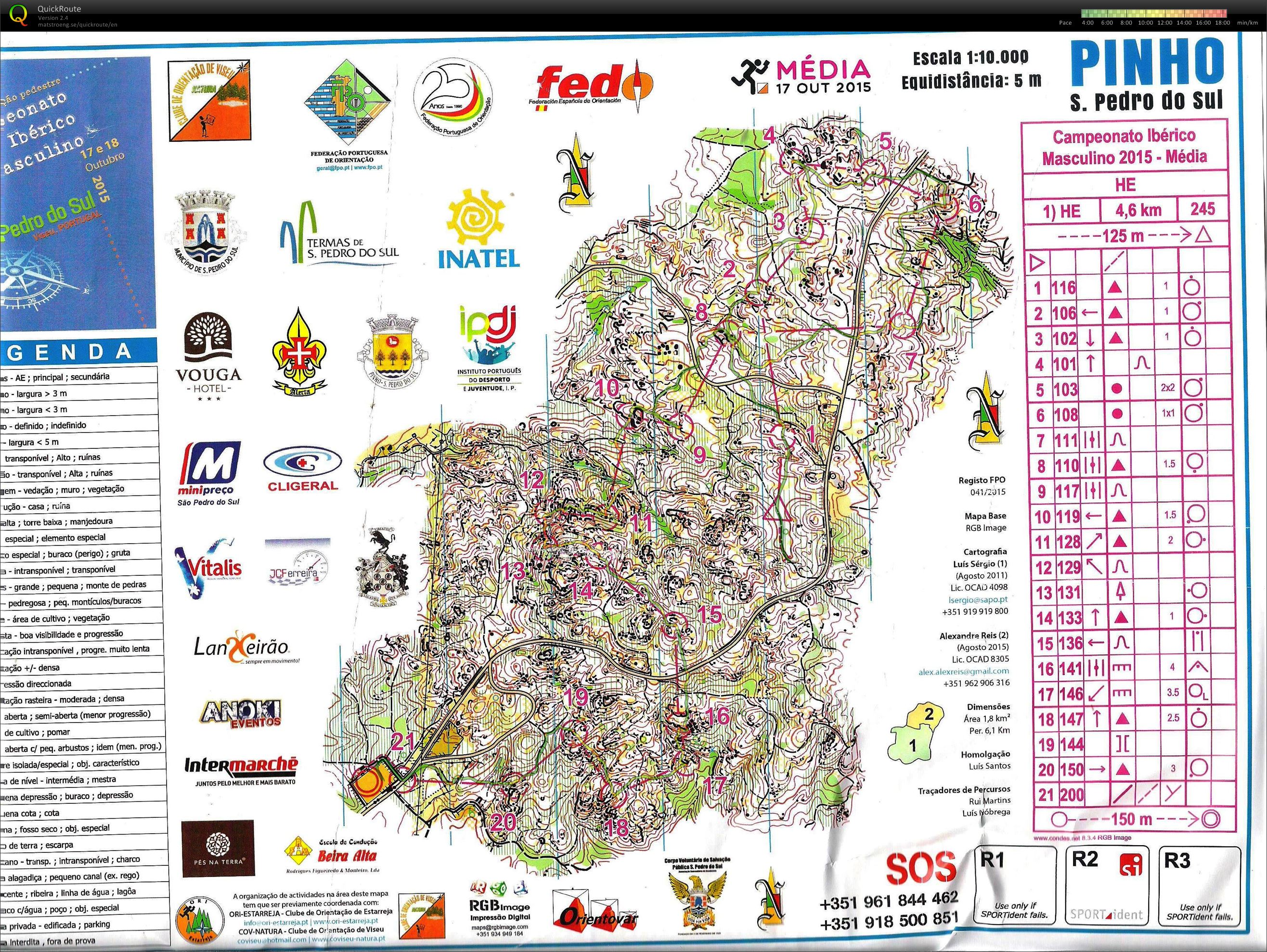 Iberian Championship (middle distance) (2015-10-17)